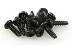 ROUND HEAD SELF TAPPING SCREW 3x10 (12)